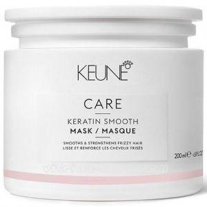 KEUNE Маска Кератиновый комплекс / CARE Keratin Smooth Mask, 200 мл. (21358) Кёне
